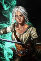 The Witcher - Silver for monsters by K-yon