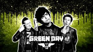 green day tablet and computer wallpaper by theskittyninjatale