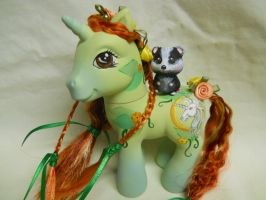 Earth Goddess Custom Pony by TiellaNicole