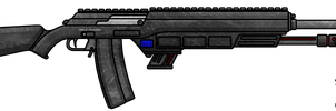 Fictional Firearm: HC-405 Dual Platform Plasma BR by CzechBiohazard