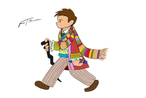 Classic Whovian by FrankRT