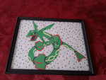 Rayquaza Paper Craft by xxTsun-Heart