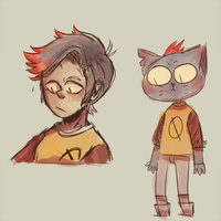 Human!Mae - Night in the woods by Extreme-Hiatus