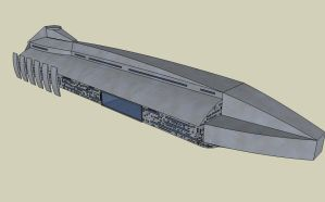 Battlecruiser WIP by quacky112