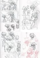Pen concepts and doodles by Freakly-Show