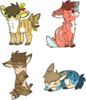 Cheap Adoptables closed by CapitanoMud