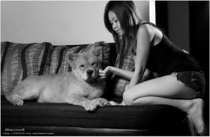 photo session with Dru by KanutoX