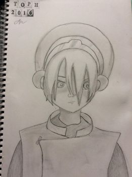 Toph from Avatar the last Airbender  by aimeeno1