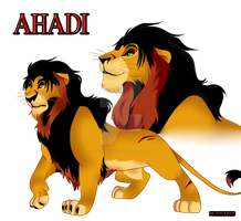 King Ahadi by IwarinJones