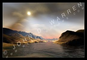 Terragen - Sky Experiment - by johnwarren