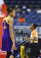 Candace Parker and small referee by lowerrider