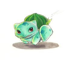 Bulbasaur by Fynwe
