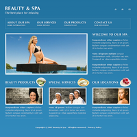 Beauty and Spa Template by apokalypseAT