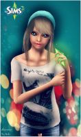 The Sims 3 - Aiumia by Riki-Ksu