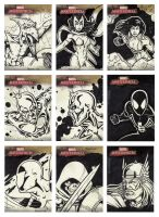 2008 Marvel Masterpieces R by tonyperna
