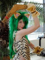 ChamCham with boomerang by YurikoCosplay