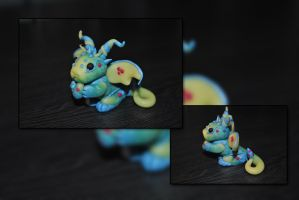 Baby Easter Dragon by KirstenBerryCrafts