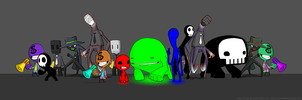 RGB Character Comparision by trofdugweed