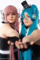 Miku and Luka Vocaloid - sing by xRika89x