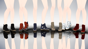 MMD IM Sneaker Wedges by yokkaulove