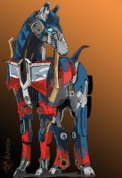 Optimus_horse by Di-Phoenix