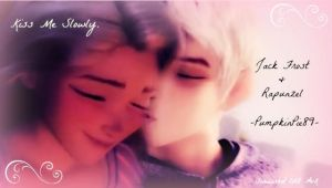 Jack Frost + Rapunzel: Kiss Me Slowly by WhiteKiss