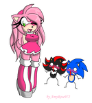 ...Sexy Amy Rose... by LauryPinky972