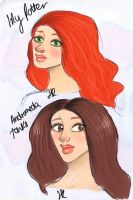Lily and Andromeda by secki97