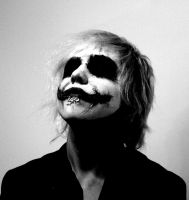 The Joker make up 002 by Chartail