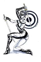 Lady Bullseye by StarExtinction