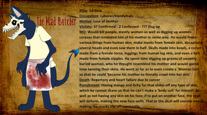 Demonology 101 - The Mad Butcher by MyuuTheMew