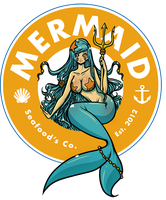 Mermaid Seafood Co. by SoyUnGnomo