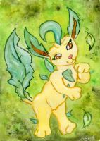 Leafeon by Starrydance