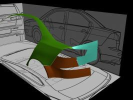 Wip 2 Mitsubishi Lancer 2008 by theseventhshadow