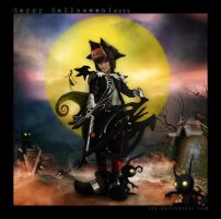 Halloween Town Sora ::05 by Cvy