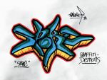 SPOKE (Graffiti-Demons) by takethef