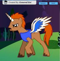 MLP Filmation Is Magic Unicorn King from She Ra by ShebaKoby