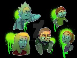 Rick And Morty Show by Silentyeller