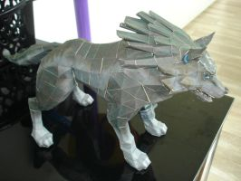 Wolf Link Papercraft by BrunoPigh