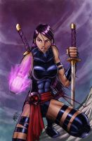 Psylocke 2013 by RecklessHero