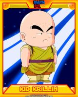 DB-Kid Krillin V2 by el-maky-z