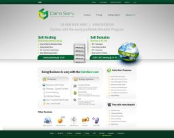 Cairo Serv website Design OP2 by ahmedelzahra
