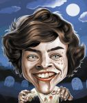 Harry Styles as a zombie by chngch
