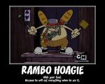 KND Motivator: Rambo Hoagie by Porn1315