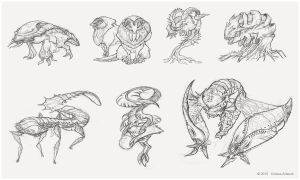 Creature Sketch_006 by Koiless-Artwork