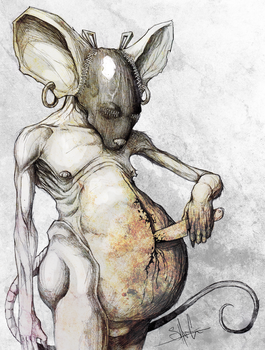 Sado Mouse Chist by ShawnCoss
