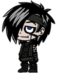 Andy Biersack Page Doll by DerseDragon