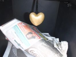 heart of paper by Was-Is-Willbe