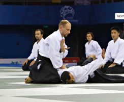 Aikido : Immobilization 1 by chavi-dragon