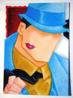 The Question Sketch Card ACEO by MrBowen3